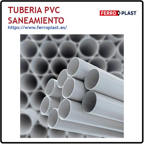Tuberia PVC saneamiento