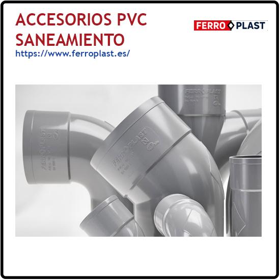 Accesorios PVC saneamiento