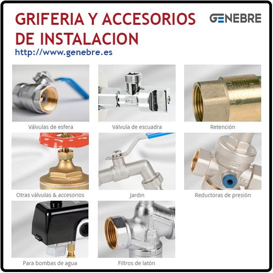Griferia y Accesorios de instalacion