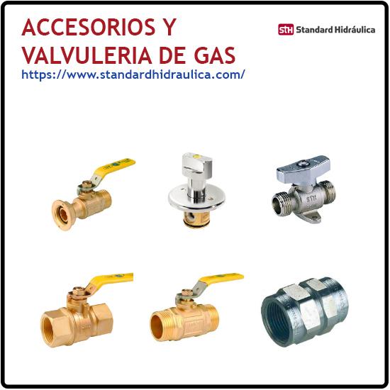 Accesorios y valvuleria de gas