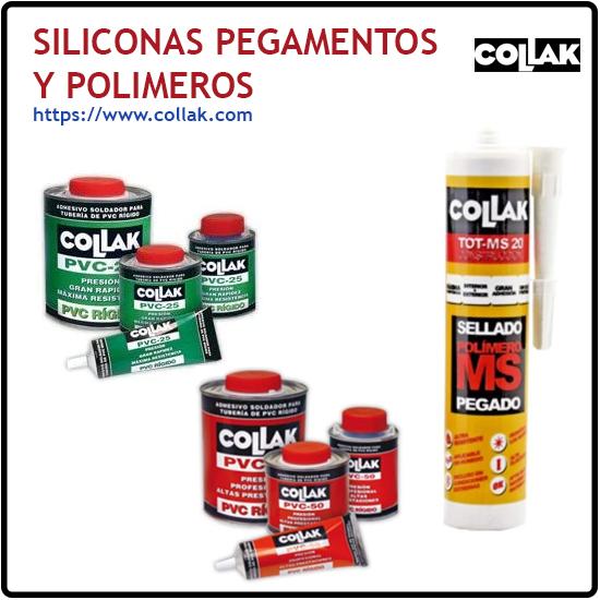 Siliconas, pegamentos y polimeros