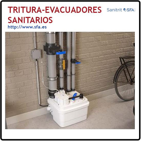 Tritura-Evacuadores sanitarios