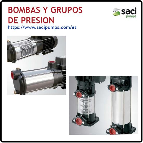 Bombas y Grupos de presion