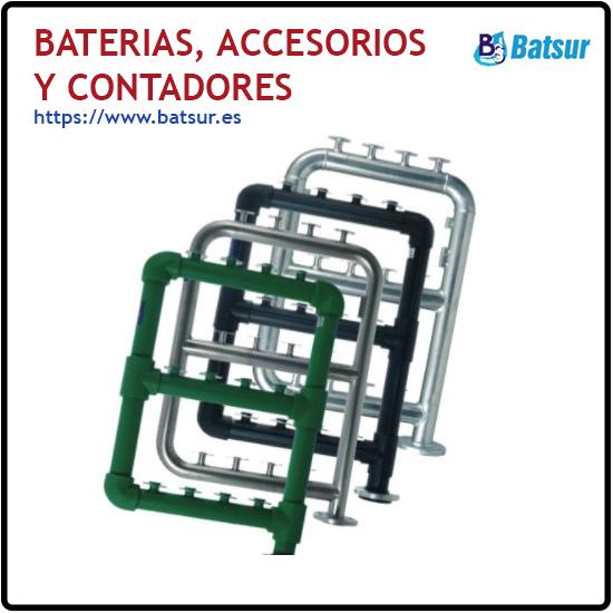 Baterias, Accesorios y Contadores