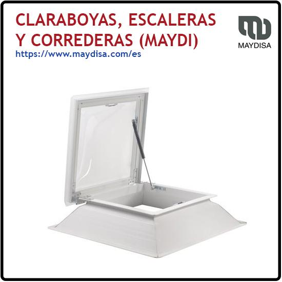 CLARABOYAS, ESCALERAS Y CORREDERAS (MAYDI)