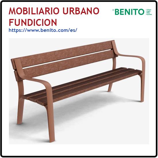 MOBILIARIO URBANO FUNDICION