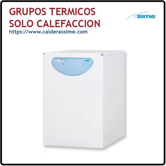Grupos Termicos solo Calefaccion