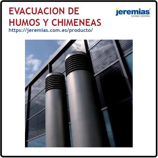 Evacuacion de humos y Chimeneas